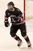 Paige Savage (NU - 28) - The Northeastern University Huskies defeated the visiting Providence College Friars 8-7 on Sunday, January 20, 2013, at Matthews Arena in Boston, Massachusetts.