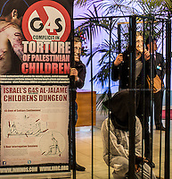 "17.04.2014 - Protest at G4S HQ for ""Palestinian Prisoners' Day"""