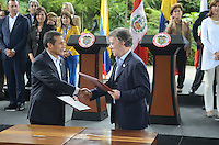 Gabinete Binacional / Binational Cabinet, COLOMBIA - PERU, Medellin, 30-10-2015