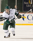 Ryan Smith (Babson - 25) - The Norwich University Cadets defeated the Babson College Beavers 4-1 on Friday, January 13, 2011, at Fenway Park in Boston, Massachusetts.