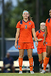 24 September 2015: Syracuse's Erin Simon. The University of North Carolina Tar Heels hosted the Syracuse University Orange at Fetzer Field in Chapel Hill, NC in a 2015 NCAA Division I Women's Soccer game. UNC won the game 3-1.