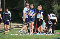 FIERLJEPPEN: IJLST: 23-07-2016, Sigrid Bokma wint bij de meisjes met 14.47m, ©foto Martin de Jong