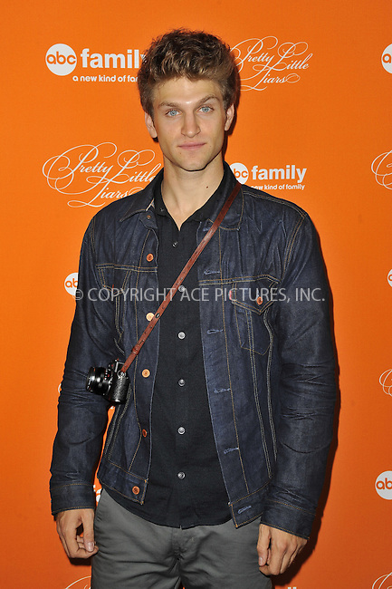 WWW.ACEPIXS.COM....October 16 2012, LA....Keegan Allen arriving at ABC Family's 'Pretty Little Liars' Halloween Episode Premiere at Hollywood Forever on October 16, 2012 in Hollywood, California. ......By Line: Peter West/ACE Pictures......ACE Pictures, Inc...tel: 646 769 0430..Email: info@acepixs.com..www.acepixs.com