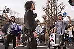 Anti nuke demo on 2nd anniversary of Quake