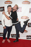 HOLLYWOOD, CA - JULY 20: Brandon Liberati and Craig Ramsay at the opening of 'Cabaret' at the Pantages Theatre on July 20, 2016 in Hollywood, California. Credit: David Edwards/MediaPunch
