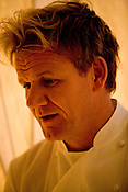 Gordon Ramsay, chef, at his restaurant in the Conrad Hotel, Tokyo, Japan. Sunday, April 20th 2008.