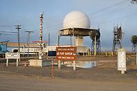 United States Air Force Long Range Radar Site, Point Utqiagvik (Barrow), Alaska.