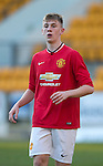 St Johnstone Academy v Manchester United Academy....17.04.15   <br /> James Dunne<br /> Picture by Graeme Hart.<br /> Copyright Perthshire Picture Agency<br /> Tel: 01738 623350  Mobile: 07990 594431