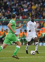 The United States won Group C of the 2010 FIFA World Cup in dramatic fashion, 1-0, over Algeria in Pretoria's Loftus Versfeld Stadium, Wednesday, June 23rd..
