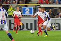 VOETBAL: HEERENVEEN: Abe Lenstra stadion 30-08-2014, SC Heerenveen - FC Utrecht uitslag 3-1, Luciano Slagveer, ©foto Martin de Jong