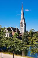 Saint Albans Anglican Church in Copenhagen, Denmark.
