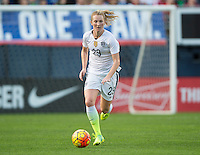 San Diego, CA - January 23, 2016: The USWNT defeated Ireland 5-0 during an international friendly at Qualcomm Stadium.