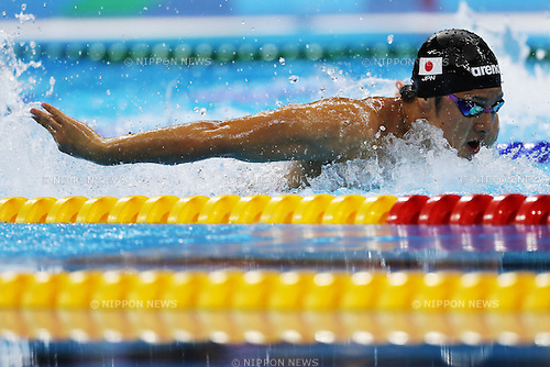 Daiya Seto (JPN), <br /> AUGUST 6, 2016 - Swimming : <br /> Men's 200m Butterfly Semi-final <br /> at Olympic Aquatics Stadium <br /> during the Rio 2016 Olympic Games in Rio de Janeiro, Brazil. <br /> (Photo by Koji Aoki/AFLO SPORT)