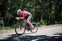 Andr&eacute; Greipel (DEU/Lotto-Soudal) on course<br /> <br /> stage 13 (ITT): Bourg-Saint-Andeol - Le Caverne de Pont (37.5km)<br /> 103rd Tour de France 2016