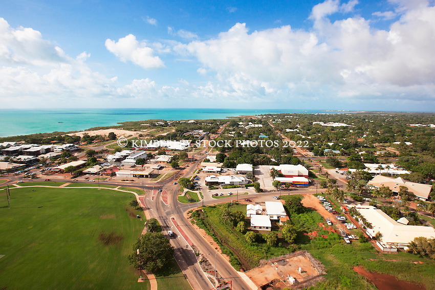 Aerial view Broome