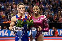 2014 Nastia Liukin/AT&T American Cup