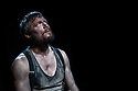 "London, UK. 17.5.12. ""The Hairy Ape"" by Eugene O'Neill, opens at Southwark Playhouse. Picture shows: Bill Ward (as Yank)."
