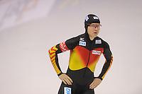 SCHAATSEN: CALGARY: Olympic Oval, 09-11-2013, Essent ISU World Cup, 500m, Jenny Wolf (GER), ©foto Martin de Jong