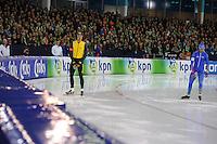 SCHAATSEN: HEERENVEEN: 28-12-2016, KPN NK AFSTANDEN, ©foto Martin de Jong