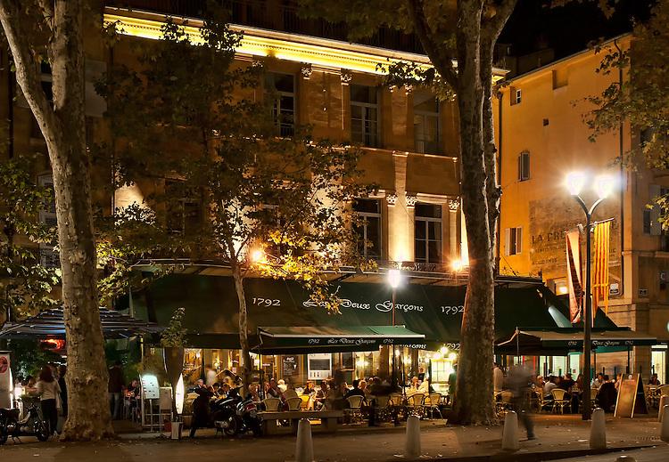 Brasserie les deux gar ons phil haber photography for Aix en provence cours de cuisine