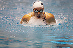 Ariana Kukors swims the breast stroke leg of the Women's 200 Yard IM event at the AT & T Short Course National Championships in Federal Way, WA., on.Thursday, Dec. 3, 2009. Kukors posted a winning time of 1:55.40. JIm Bryant Photo. 2009. All Rights Reserved....