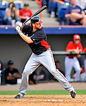 6 March 2011: Atlanta Braves' pitcher Tommy Hanson at bat during a Spring Training game against the Washington Nationals at Space Coast Stadium in Viera, Florida. The Braves shut out the Nationals 5-0 in Grapefruit League action. Mandatory Credit: Ed Wolfstein Photo