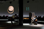 Visitors try out an interactive installment at  the metropolitan science museum in Nagoya, Aichi Prefecture, Japan on 13 Oct. 2011. Photograph: Robert Gilhooly