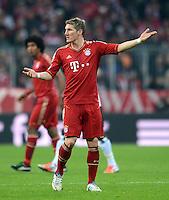 FUSSBALL   1. BUNDESLIGA  SAISON 2012/2013   11. Spieltag FC Bayern Muenchen - Eintracht Frankfurt    10.11.2012 Bastian Schweinsteiger (FC Bayern Muenchen)