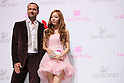 "(L to R) Robert Buchbauer, HARA (KARA), June 29, 2011. Swarovski and Hello Kitty collaboration jewelry line - Swarovski presents ""House of Hello Kitty"" makes a debut at Omotesando Hills in Tokyo, Japan. This is also a charity event to help the Earthquake victims of Japan."