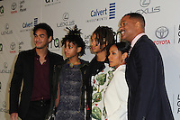 BURBANK, CA - OCTOBER 22: Will Smith, Jada Pinkett Smith, Jaden Smith, Willow Smith, Trey Smith attends the Environmental Media Association 26th Annual EMA Awards Presented By Toyota, Lexus And Calvert at Warner Bros. Studios on October 22, 2016 in Burbank, California (Credit: Parisa Afsahi/MediaPunch).