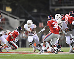 Ole Miss vs. Texas' Joe Bergeron (24) at Vaught-Hemingway Stadium in Oxford, Miss. on Saturday, September 15, 2012. Texas won 66-21. Ole Miss falls to 2-1.