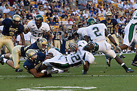 01 September 2007:Eastern Michigan running back Dwayne Priest (22)..The Pitt Panthers defeated the Eastern Michigan Eagles 27-3 at Heinz Field, Pittsburgh, Pennsylvania.