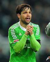 Fussball Bundesliga 2012/13: Wolfsburg - Bremen