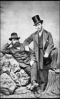 BNPS.co.uk (01202 558833)<br /> Pic: Harrods/BNPS<br /> <br /> Edgar Cohen and his brother in 1870s.<br /> <br /> Harrods was almost shut down in the 1830s long before it became a worldwide name because of its founder's criminal dealings, a new book has revealed.<br /> <br /> In The Jewel of Knightsbridge, The Origins of the Harrods Empire, author Robin Harrod discovered his great great grandfather, Harrods founder Charles Henry Harrod, was on the brink of being deported to Australia for handling stolen goods in 1836.<br /> <br /> He was only saved from his sentence of seven years transportation (deportation) by a petition on his behalf which vowed he would turn his back on crime.<br /> <br /> The Jewel of Knightsbridge: The Origins of The Harrods Empire by Robin Harrod, published by The History Press, costs &pound;20 and will be released on February 13.