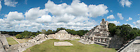 Edzna Mayan archeological site, Campeche,  Mexico