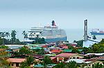 Cruise Ship, Queen Victoria, Caribbean, Puerto Limon, Costa Rica