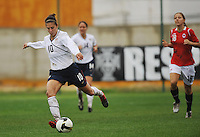 Carli Lloyd vs Norway in the 2010 Algarve Cup