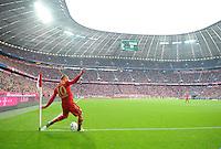 FUSSBALL   1. BUNDESLIGA  SAISON 2011/2012   31. Spieltag FC Bayern Muenchen - FSV Mainz 05       14.04.2012 Arjen Robben (FC Bayern Muenchen)