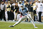 17 October 2015: UNC's Quinshad Davis. The University of North Carolina Tar Heels hosted the Wake Foresst University Demon Deacons at Kenan Memorial Stadium in Chapel Hill, North Carolina in a 2015 NCAA Division I College Football game. UNC won the game 50-14.