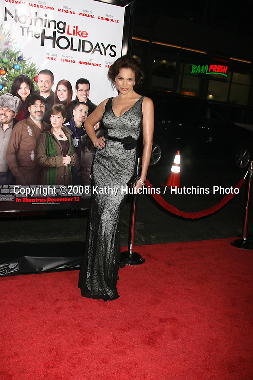 Patricia deLeon  arriving at the Premiere of &quot;Nothing Like the Holidays&quot; at the Grauman's Chinese Theater in Hollywood, CA.December 3, 2008.&copy;2008 Kathy Hutchins / Hutchins Photo....                .