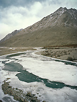 On the road to the end of the Wakhan Corridor.<br /> Winter expedition through the Wakhan Corridor and into the Afghan Pamir mountains, to document the life of the Afghan Kyrgyz tribe. January/February 2008. Afghanistan