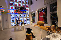 A Nine West store in New York on Tuesday, October 4, 2016. The Sycamore Partners owned Nine West is one of seven retailers that according to the Fitch Ratings is at risk for filing for bankruptcy. (© Richard B. Levine)