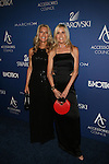 "Baldwin Fairchild's Karen Baldwin and Jill Fairchild Dressed in Black Rocking the Baldwin Fairchild The Evening ""O"" Handbags Attend the Accessories Council Toasts 20 Years at the 2014 Ace Awards Held at Cipriani 42nd Street"
