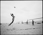 USA Olympic Preview 2004: Misty MAY, 27, Long Beach, California, Beach volleyball (partnered with  Kerri WALSH), June 2004...2004 © David BURNETT (CONTACT PRESS IMAGES)