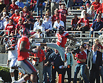 Ole Miss vs. Arkansas at Vaught-Hemingway Stadium in Oxford, Miss. on Saturday, October 22, 2011. .