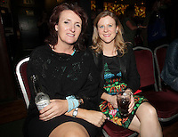 04/06/14<br /> (No Fee pixs) Serena Lawlor and Nola Carey at the Stella Bass Album Launch &ldquo;TOO DARN HOT&rdquo; which took place in the Sugar Club Co Dublin this evening&hellip;<br /> Pic Collins  Photos