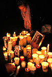 Hundreds kept a candlelight vigil in front of the University Medical Center, where Arizona congresswoman, Gabrielle Giffords, recovers after being shot in the head on Jan. 8, 2011.