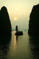 Cruising Halong Bay in a junk is one of  Vietnam's musts, as you can choose  luxury boats with antique accommodations and five star food, or a budget backpacker boat. Spending time on the junk, you'll not only savor a unique feeling in a world of wonder but also enjoy such activities as photography, fishing, kayaking, and even on-board cooking classes.  Not to mention the UNESCO World Heritage views of Halong Bay itself.