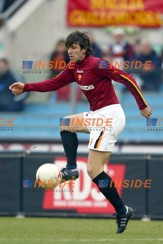 Roma 25/1/2004 <br /> Roma Udinese 1-1 <br /> Vincent Candela (Roma)<br /> Foto Andrea Staccioli Insidefoto