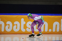 SCHAATSEN: HEERENVEEN: 29-11-2014, IJsstadion Thialf, KNSB trainingswedstrijd, Thijs Roozen, ©foto Martin de Jong